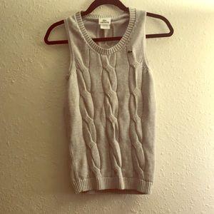 UNDER $5 Vtg Lacoste sweater vest